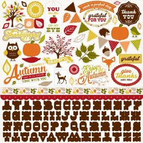 A PERFECT AUTUMN - Sticker Sheet
