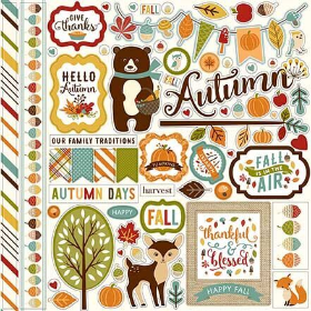 FALL IS IN THE AIR - Element Stickers