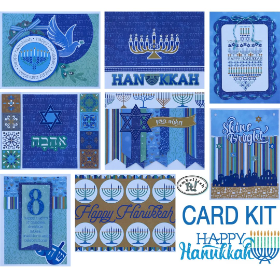 HANUKKAH Card Kit