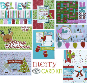 MERRY Card Kit