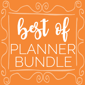 Best of Planner Bundle
