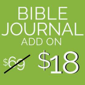 Bible Journal Add On