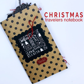 Christmas Travelers Notebook Kit