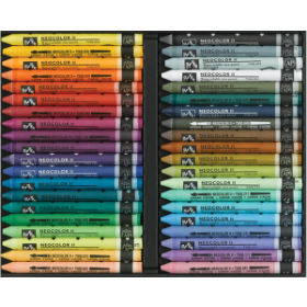 Neocolor II Watercolor Crayons - 40 set