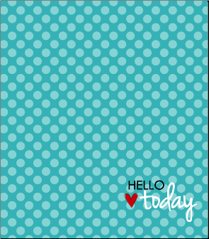 NoteBook Journal - Teal Hello Today