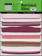Pinks - Monochromatic Ribbons