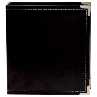SN@P! 6x8 Leather Album - Black