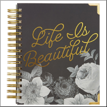 Spiral Planner - BEAUTIFUL 2018