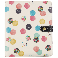 A5 Planner Floral Dot
