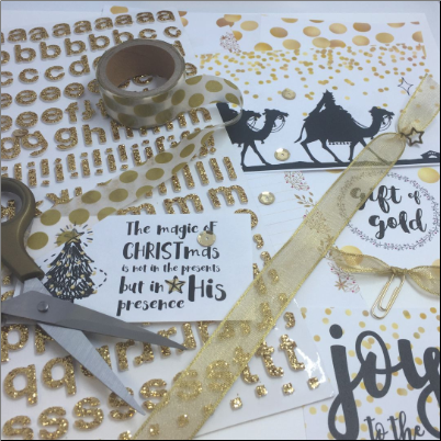 GIFT OF GOLD Bible Journal Kit