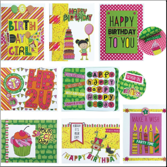 BIRTHDAY GIRL Cards