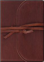 Journaling Bible - Brown Leather