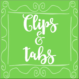 Planner Clips & Tabs