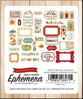 FALL IS IN THE AIR - Frames & Tags Ephemera Pack