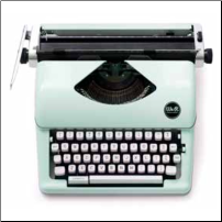 Mint Typewriter