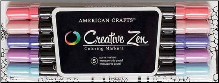 Creative Zen Pen Set - Pastel