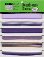 Ribbons: Monochromatic PURPLES