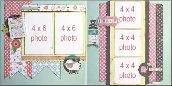 Baby Girl Page Kit