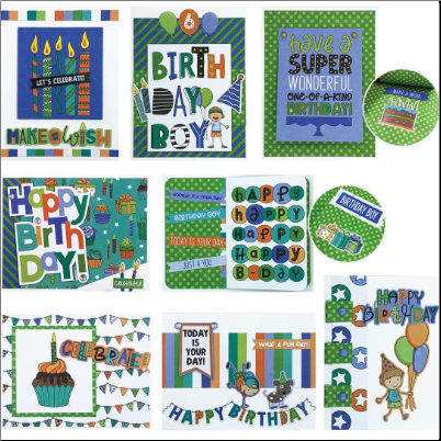 BIRTHDAY BOY Cards