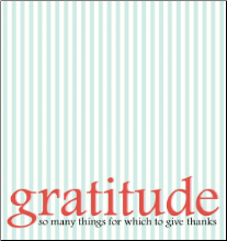 GRATITUDE Today Inspirational