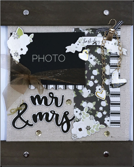 Mr&Mrs Canvas Home Decor Kit