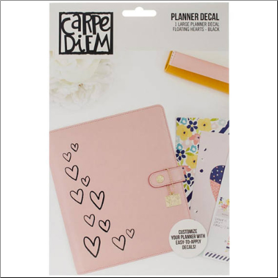 PLANNER DECAL - Floating Hearts
