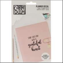 PLANNER DECAL - Grateful Heart