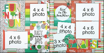 Fun in the Sun Page Kit