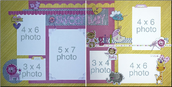 Sweet Baby GIRL Page Kit